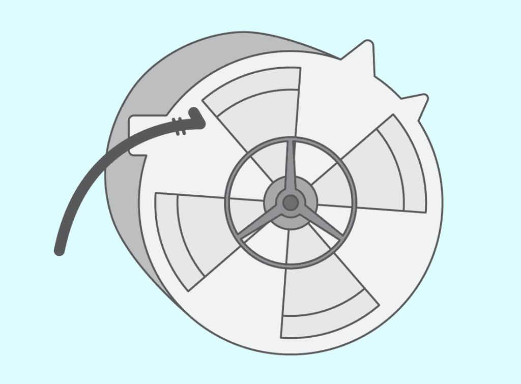 Deuxième étape : démontez le moteur et débranchez les connexions électriques