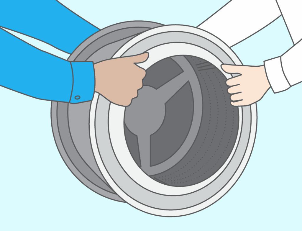 Cinquième étape : retirez les roulements