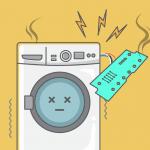 Changer les composants électroniques de ma machine à laver, étape par étape