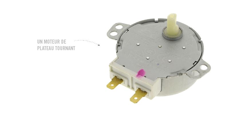 Un moteur de plateau tournant
