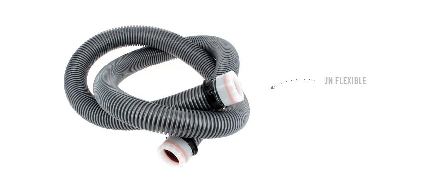 Les flexibles et les tubes sont bouchés ou percés