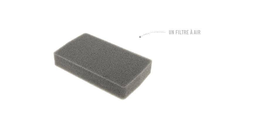 Les filtres sont encrassés