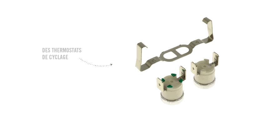 Des thermostats de cyclage