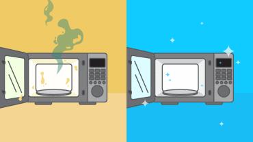 Comment nettoyer un four à micro-ondes