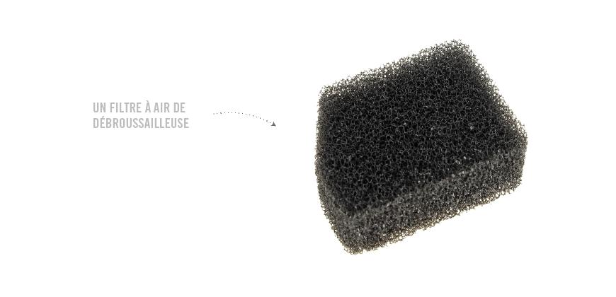 O filtro de ar é sujo