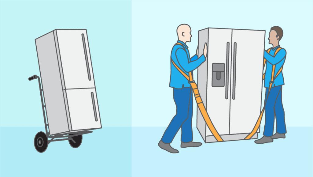 Le transport : sécuriser et déménager l'appareil