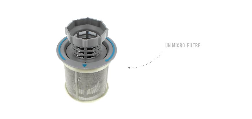 Déboucher le micro-filtre