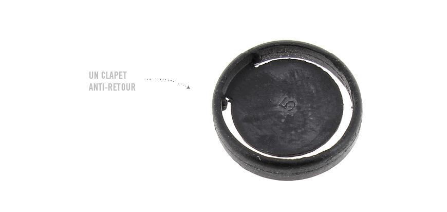 Déboucher ou remplacer le clapet anti-retour