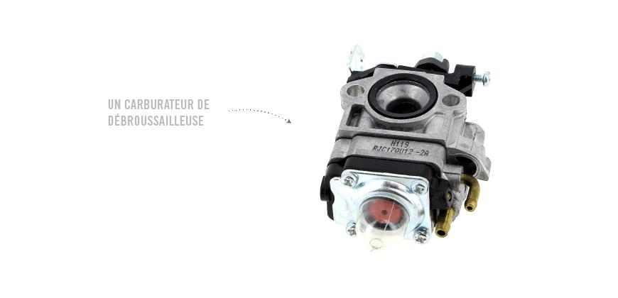 Que faire si le carburateur n'est pas réparable