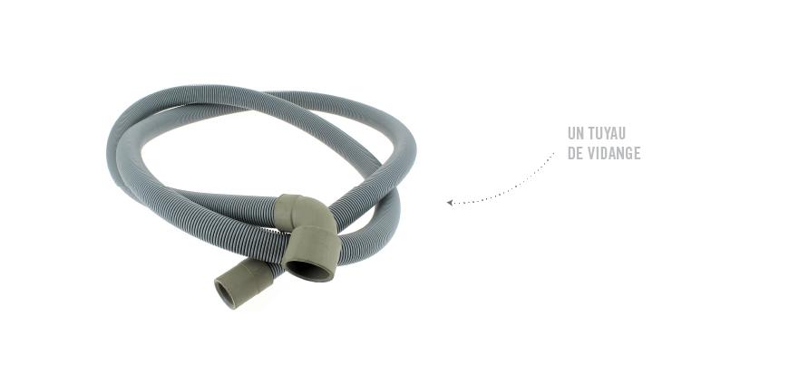 Le filtre, tuyau de vidange ou la canalisation sont bouchés