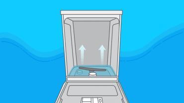 Lave-vaisselle bouché, que faire quand l'eau remonte