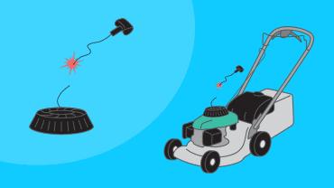 Comment réparer un lanceur de tondeuse bloqué qui ne revient pas