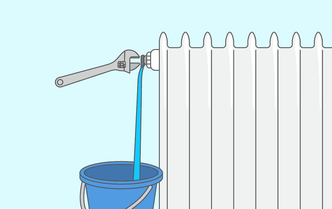 Comment bien purger un radiateur (fonte, vertical, gaz, fioul, etc.) ?