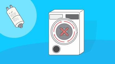Comment tester et remplacer un condensateur sur un sèche-linge ?