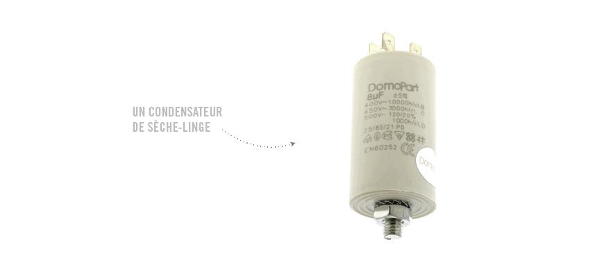 Condensateurs Seche-linge