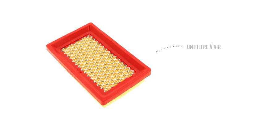 un filtre a air